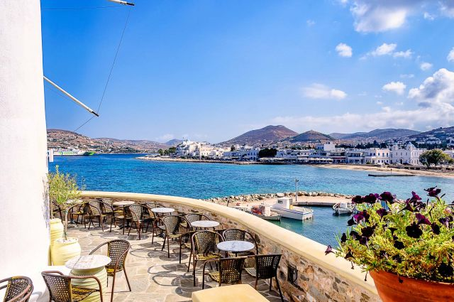 Paros island: sensations, colours and sounds