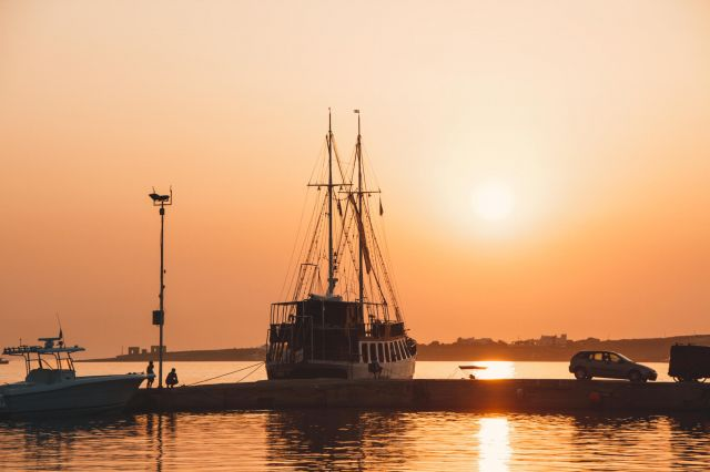 Paros, Best Places to See Sunset